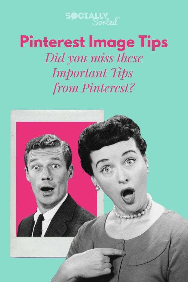 Pinterest Image Tips - Did you miss these Important Tips from Pinterest? [Infographic]