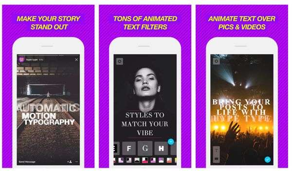 Hype Type app for Instagram Stories that Stand Out!