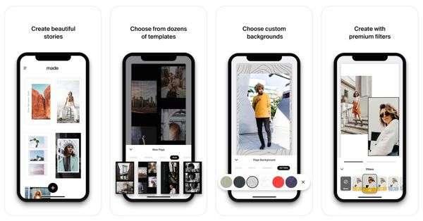 Made App for Instagram Stories