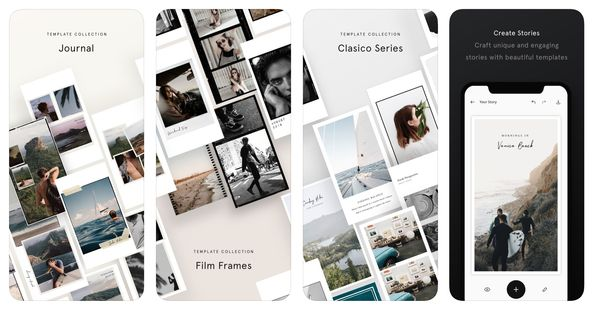 Unfold - 17 Apps for Creating Instagram Stories that Stand Out!