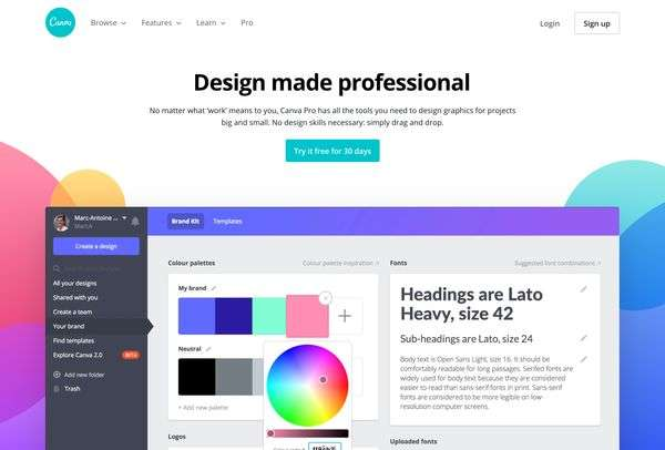 Canva Pro - 3 Visual Design Tools for Teams (for Non-Designers)