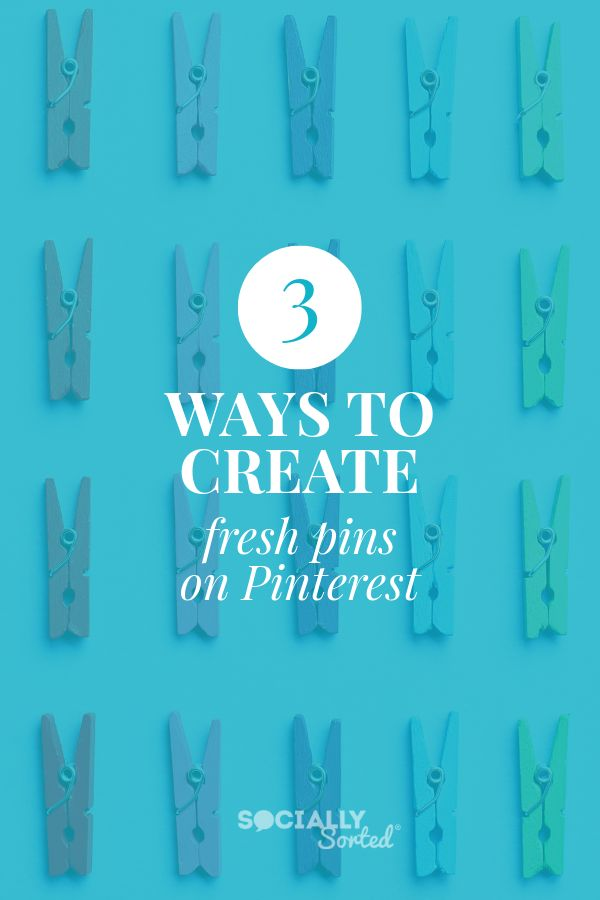 Example of Pinterest Pin Design with colored overlay