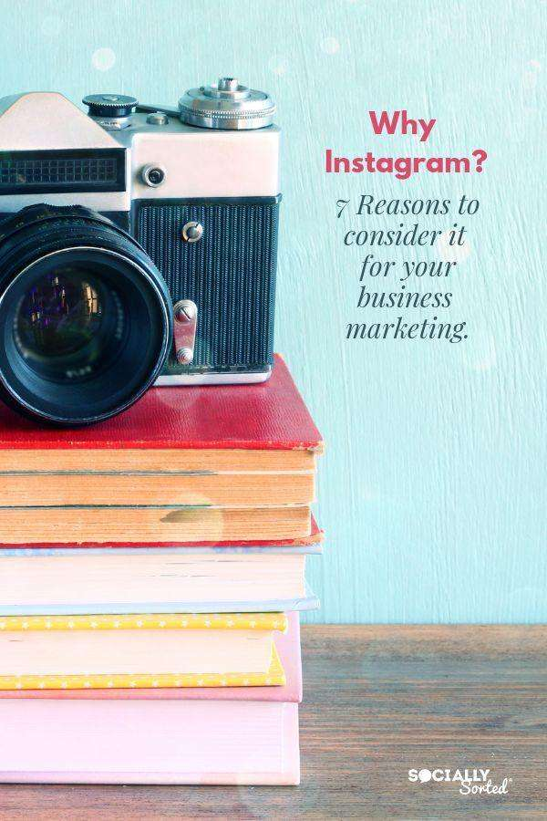 Image of Camera - Why Instagram for business? Here's 7 Reasons to Love Instagram for your marketing and customer engagement.