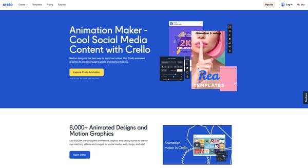 Crello Animation Maker App - 5 Short video Tools to help you Jump into Video