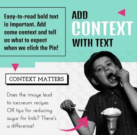 Example of how to add context to text on an inforaphic