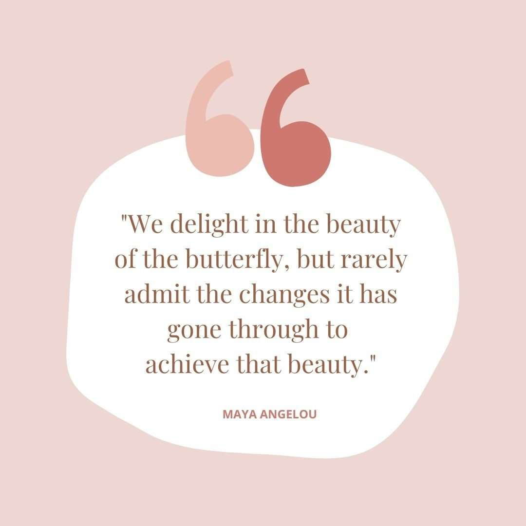 Maya Angelou Quote - 60+ April Social Media Ideas and templates