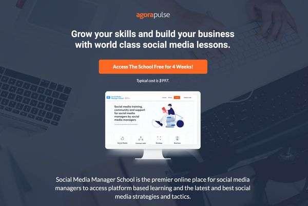 Agorapulse Social Media Manager School