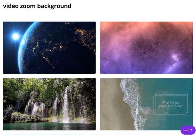 Canva Virtual Background Videos for Zoom