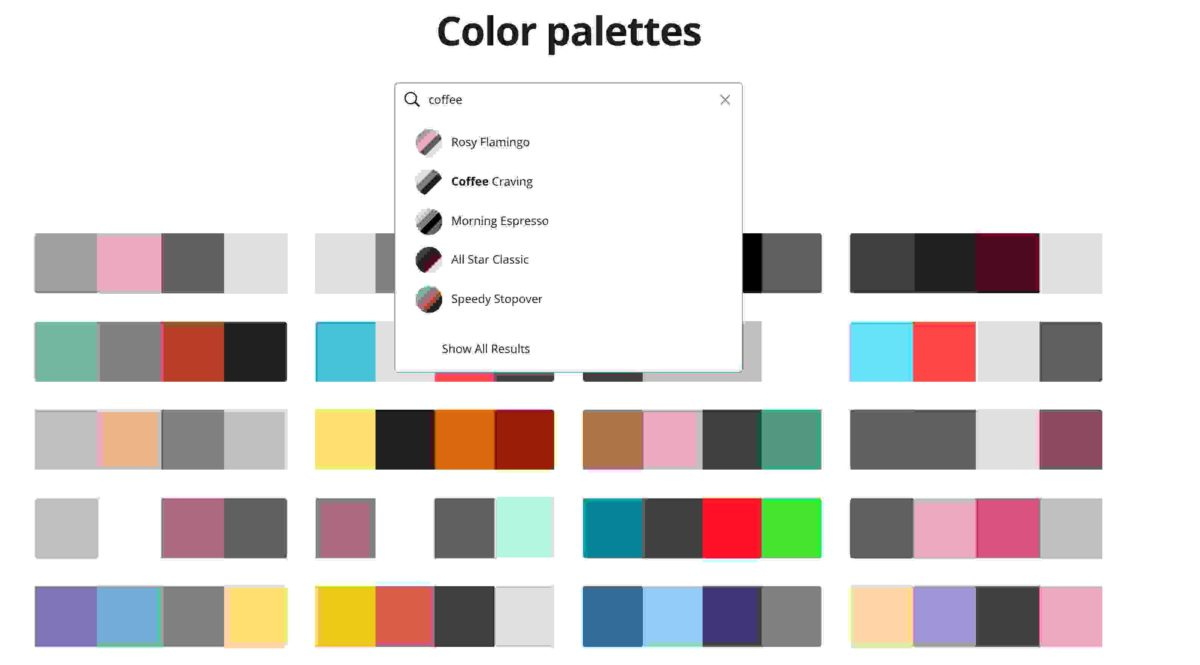 Canva's Color Palette Ideas Tool - The Best Color Picker Tool, Color Palette Tools and More