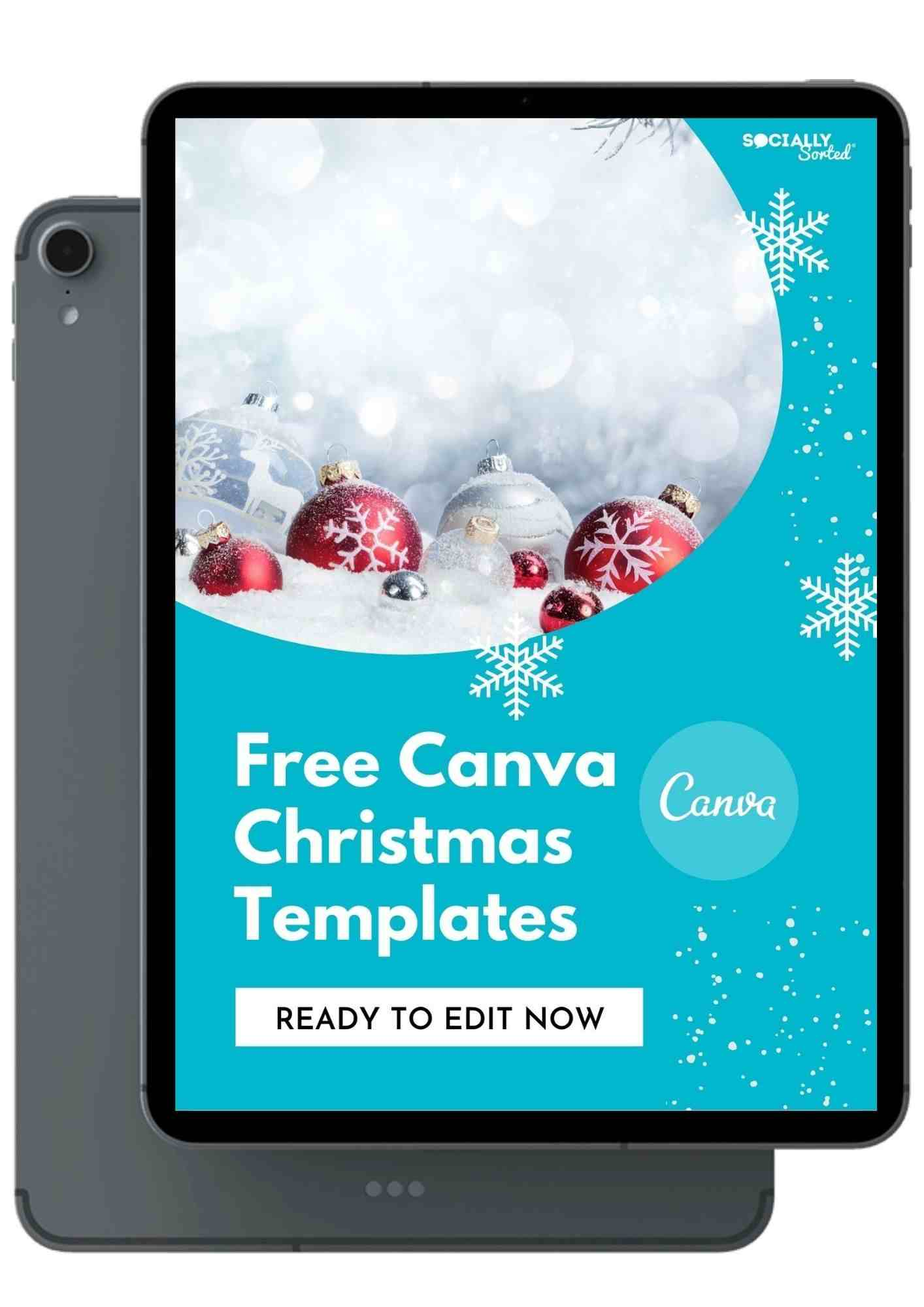 Free Download of Canva Christmas Templates