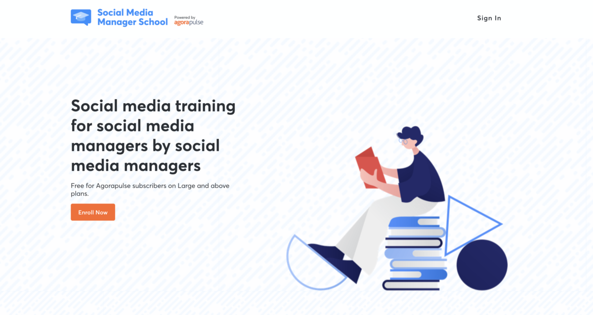 Social Media Managers School offer for Black Friday