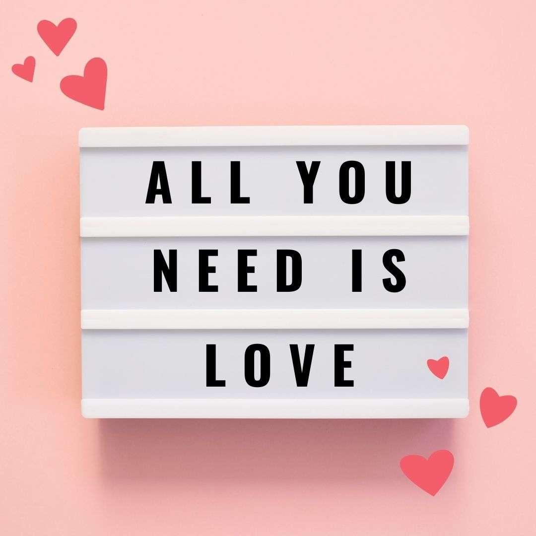 2021 February Social Media Holidays - Valentine's Day Template