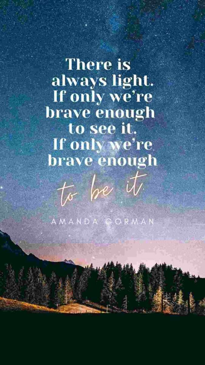 Poetry Quote template to be used in Canva - 60+ March Social Media Holiday Ideas