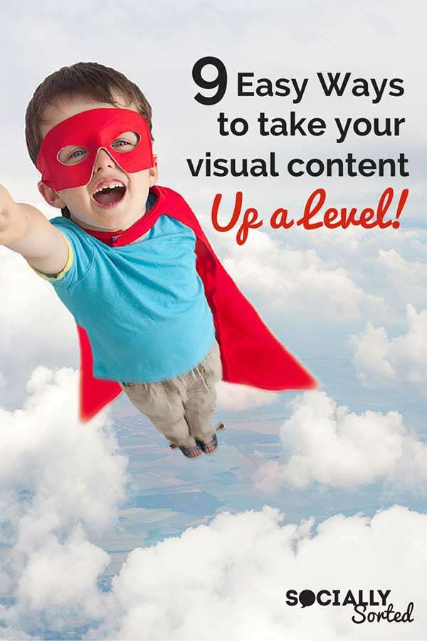9 Ways to Take Your Visual Content Up a Level - http://sociallysorted.com.au/9-ways-levelup-visual-content/ Image by Shutterstock.