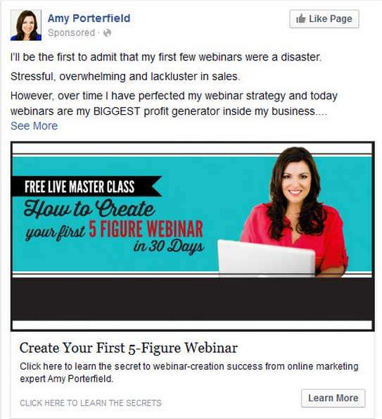 19 Pro Tips for a Packed House at Your Next Live Webinar or Event - Amy Porterfield Tip