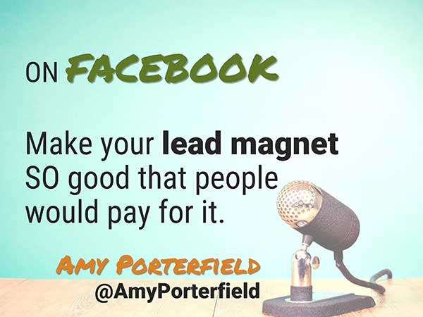 Quote by Amy Porterfield - Speaker at Social Media Success Summit - 5 Crazy Smart Reasons to Attend Social Media Success Summit 2015