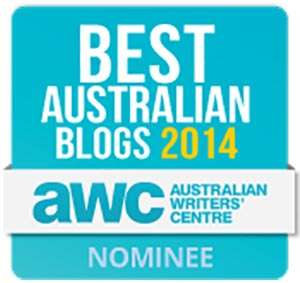 Nominee Badge - Best Australian Blog 2014