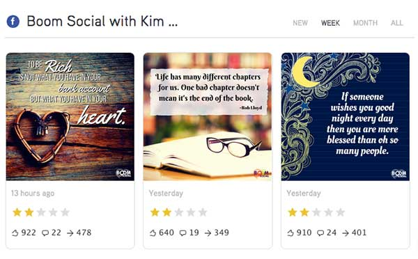 Post Planner's viral tool featuring Boom Social with Kim Garst