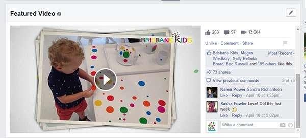 Brisbane Kids Facebook Video