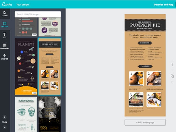 Canva Inforaphic Template - 9 Ways to UpLevel your Visual Content Strategy