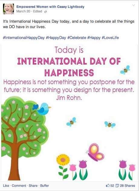 Casey Lightbody International Women's Day