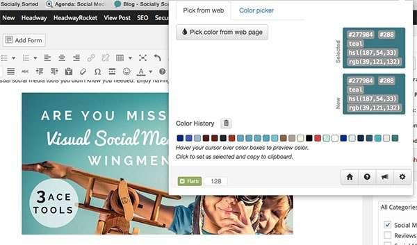3 Visual Social Media Tools You Need as Your Wingmen - Eye Dropper Dashboard