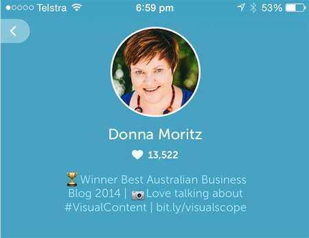 Donna Moritz Bio Periscope - 21 Periscope Tips for Winning Broadcasts