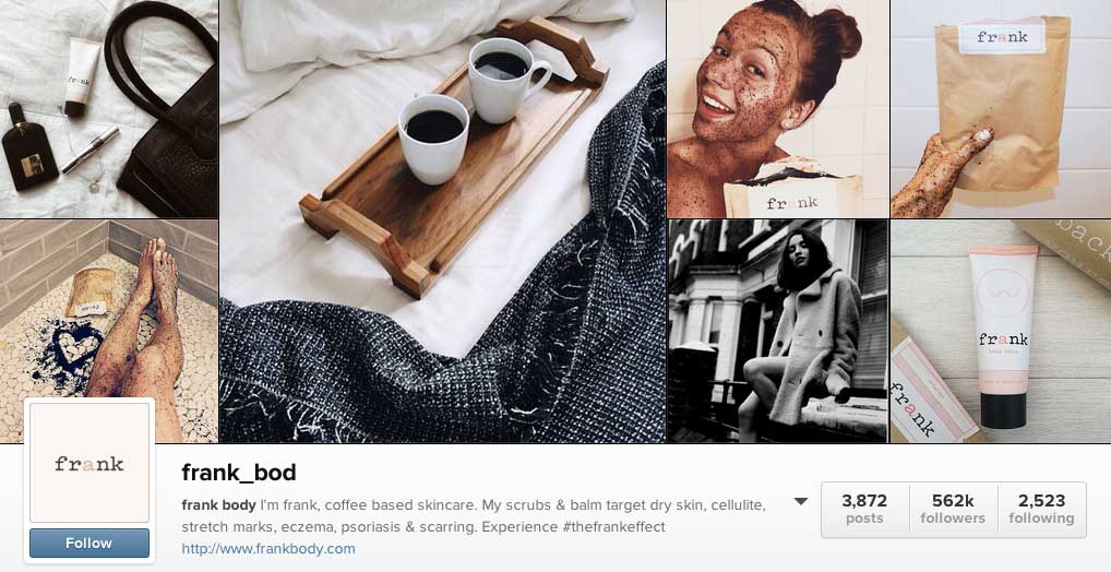 5 Top Instagram Accounts to Send You Down the Rabbit Hole (including Frank Body)