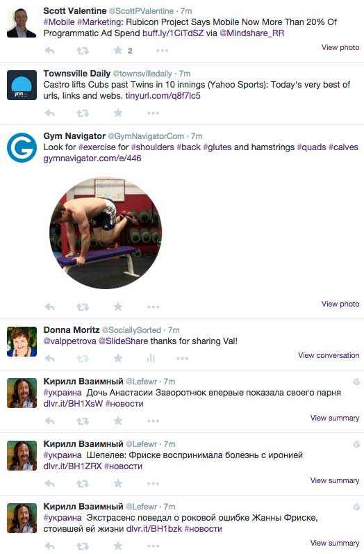 How to Use Images on Twitter to Make us Stand to Attention - Gym Navigator
