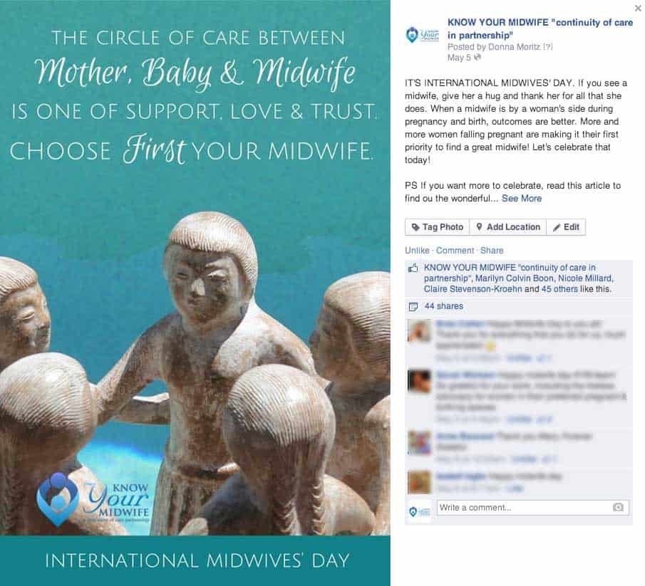 International Midwives Day Know Your Midwife