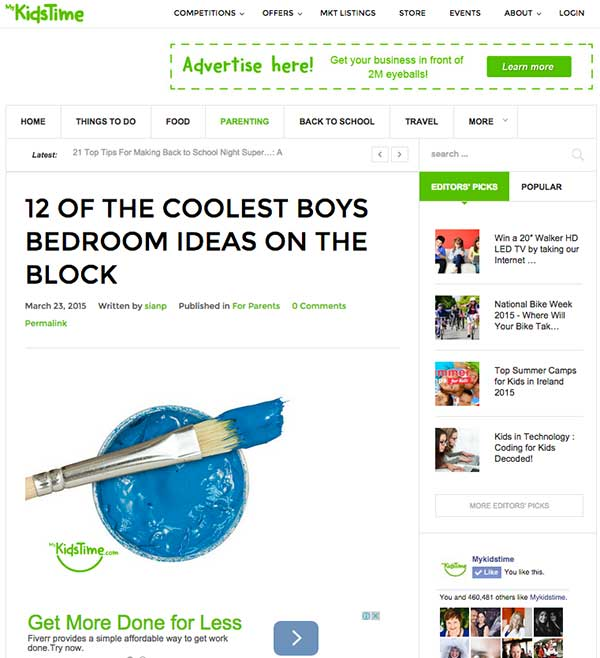 My Kids Time Blog Post and Header Image
