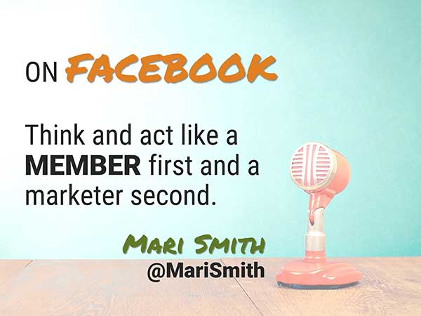 Quote by Mari Smith - Speaker at Social Media Success Summit - 5 Crazy Smart Reasons to Attend Social Media Success Summit 2015