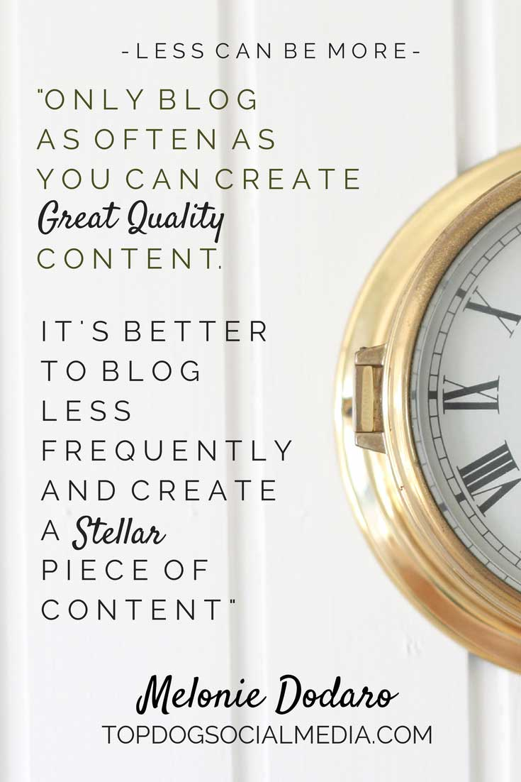 Melonie Dodaro - 5 Blogging Tips from the Pros