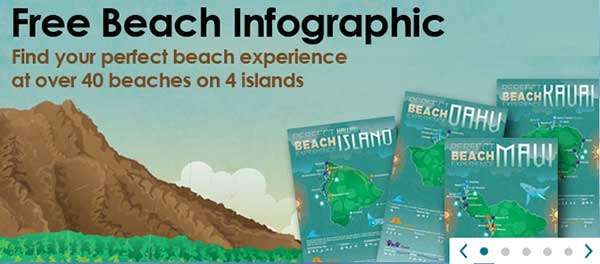 More beach infographics Outrigger Resort
