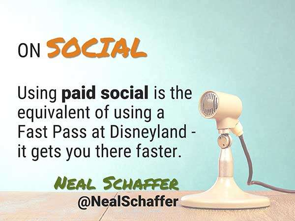 Quote by Neal Schaffer - Speaker at Social Media Success Summit - 5 Crazy Smart Reasons to Attend Social Media Success Summit 2015