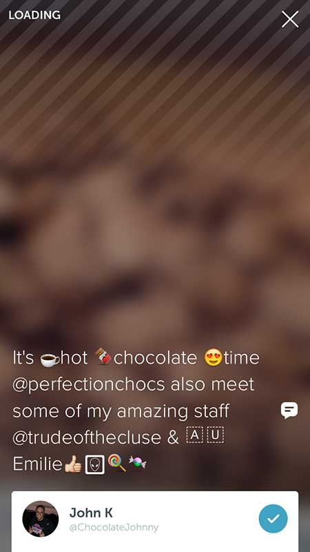 Title using Emoji's by Chocolate Johnny - 21 Periscope Tips for Winning Broadcasts