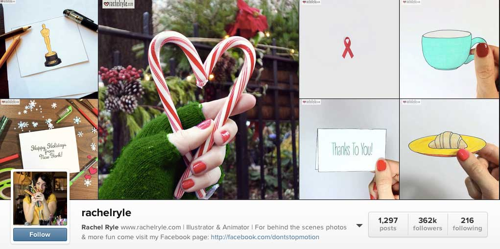 5 Top Instagram Accounts to send you down a Rabbit Hole of Visual Content (featuring Rachel Ryle)