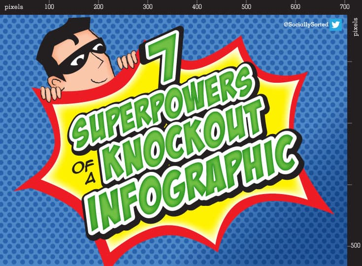 7 superpowers of a knockout infographic