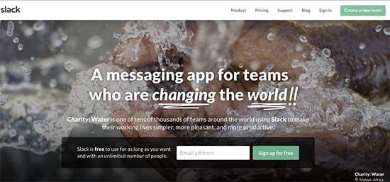 Slack Messaging App