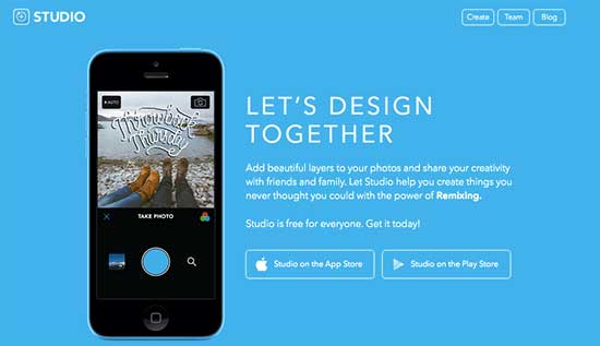 Studio App - image design on your smartphone