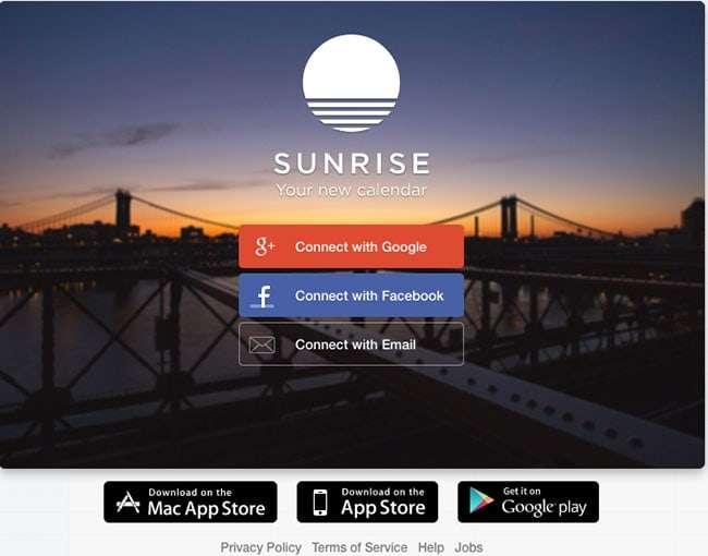 Sunrise-Calendar-App