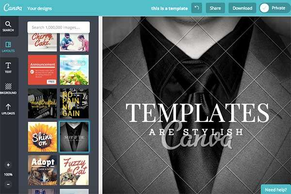 Use Canva Templates for Stylish Design