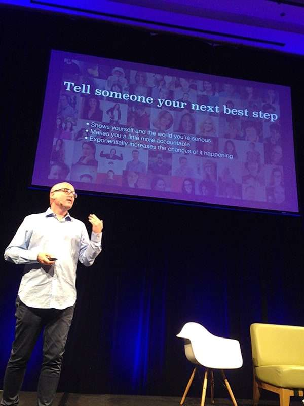 Darren Rowse Problogger 2014 - Tell Someone Your Next Best Step