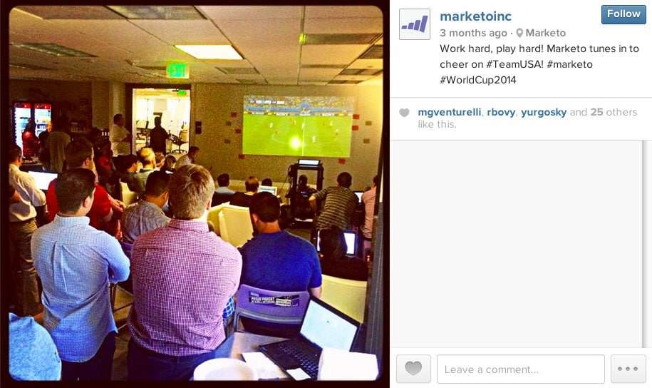 Behind the Scenes with Marketo - using native content on Instagram