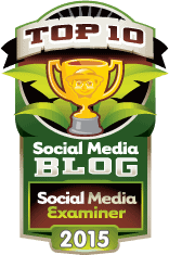 Top 10 Winner Social Media Blogs 2015  - Social Media Examiner